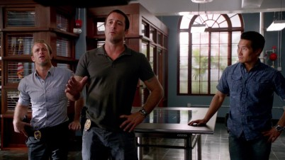 Whatever McG is trying to sell her, Chin isn't buying it. Nope.