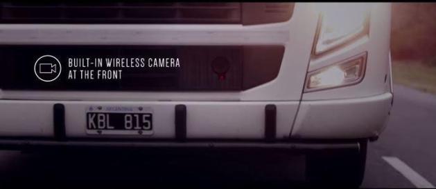 camera avant camions transparents samsung