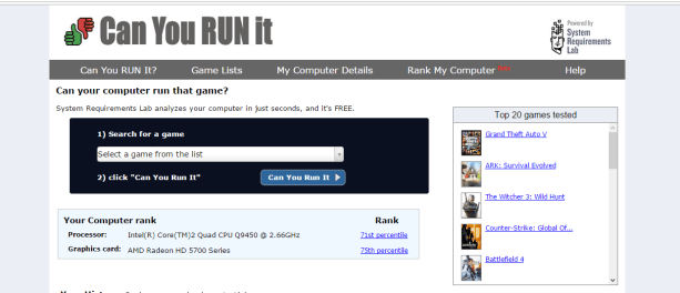can you run it tutoriel