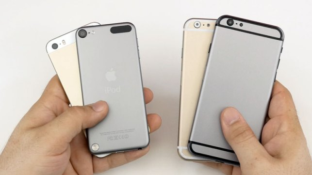 ipod touch 6 comparaison iphone 6
