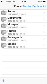 dossiers clé usb pour ipad et iphone i-usbkey