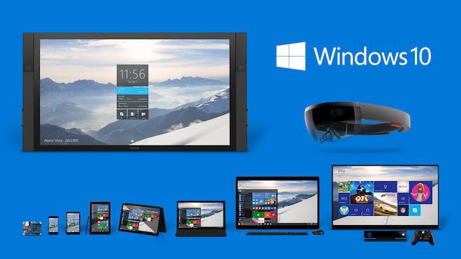 Unification des plates formes windows