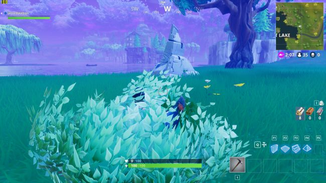 fortnite ombres faibles