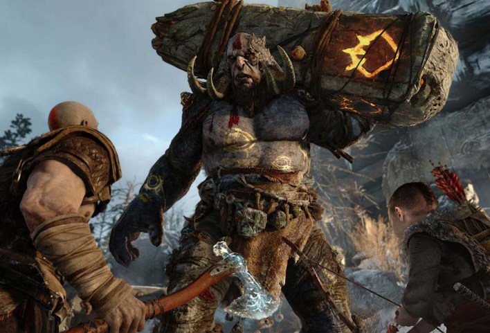 cinématique de fin de GOD OF WAR