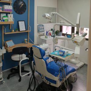 השיננית תמונה של חדר הטיפולים