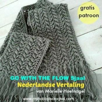 Haakpatroon Go with The Flow Sjaal