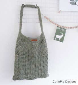 Haakpatroon Raw Linen Shopper