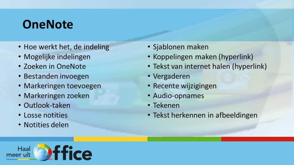 Haal meer uit Office 1-op-1-traject - OneNote