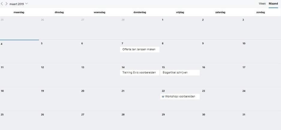 MS Planneer planning_Haal meer uit Office