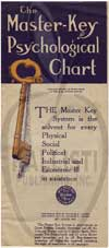 The Master Key Psychological Chart.