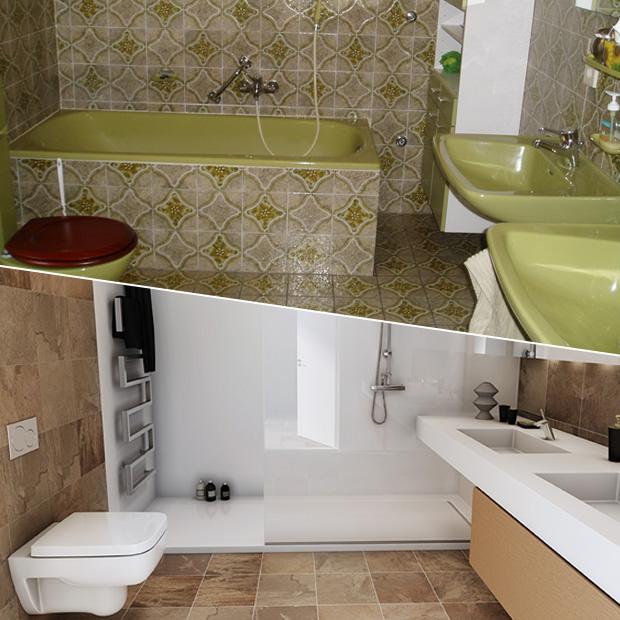 Badkamer renoveren? Ga naar Haarman in Enschede.
