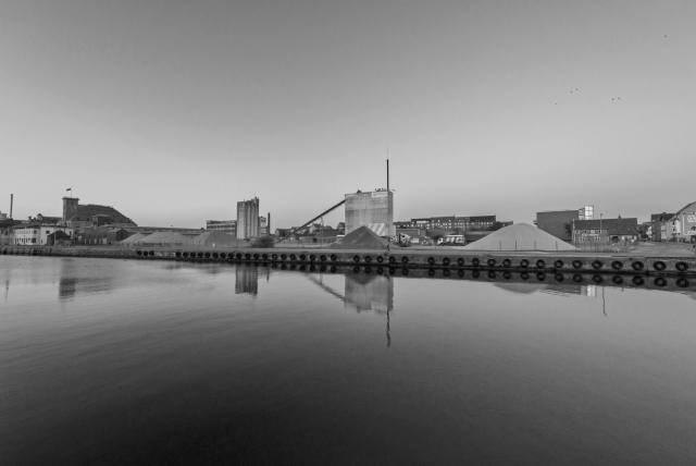 portland, dockland in odense