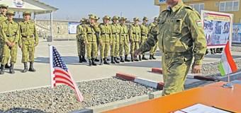 Совместные военные учения Таджикистана и США