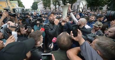 В России на митинге задержаны сотни мигрантов из ЦА