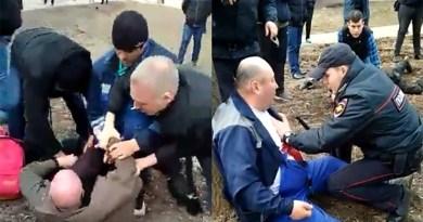 Московский скинхед напал с ножом на трудового мигранта из Кыргызстана