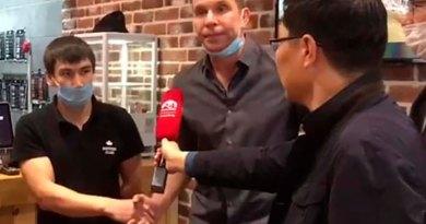 Кыргызстанец заставил извиниться известного российского телеведущего
