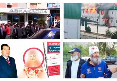 Инцидент на кыргызско-таджикской границе