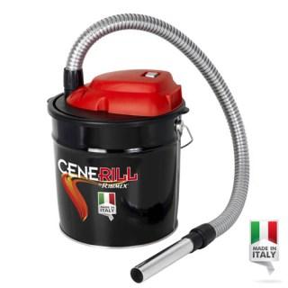 Aspiracenere elettrico a bidone 18 litri AC181000