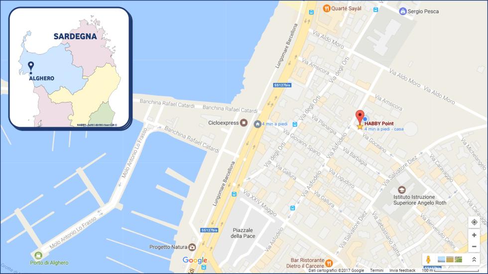 Mappa HABBY Point