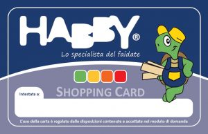 Shopping Card HABBY - Lato A
