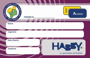 Tessera Habby Club - lato b