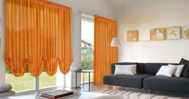 rinnovare casa cambiando le tende