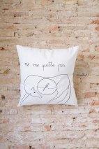 Cojines algodón 100% cosidos a mano exclusivas y pintados a mano por Carlos: 30€/und.
