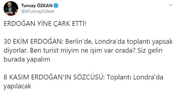 Erdoğan turist olmaya mı karar verdi