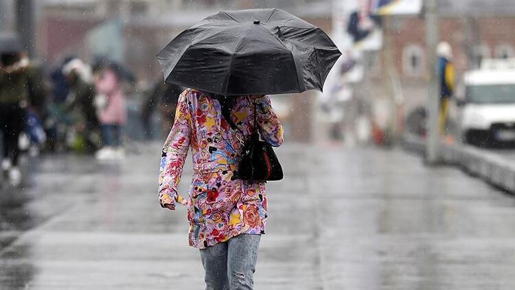 Meteoroloji'den son hava durumu raporu! Sağanak yağış uyarısı