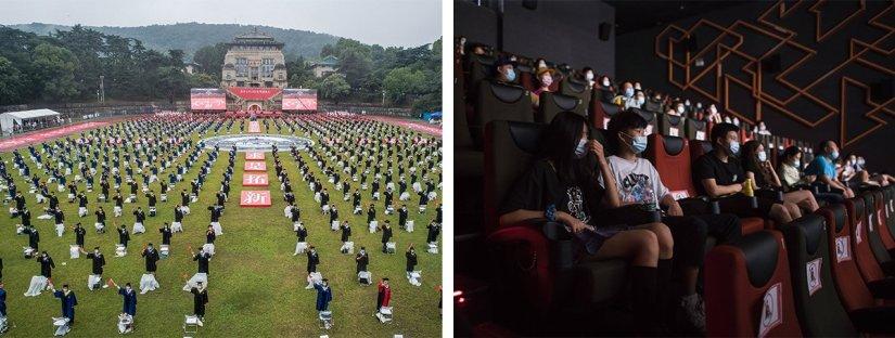 Wuhan yeni yıla sokaklarda, çoşkuyla nasıl girdi? İşte kritik dönüm noktaları…