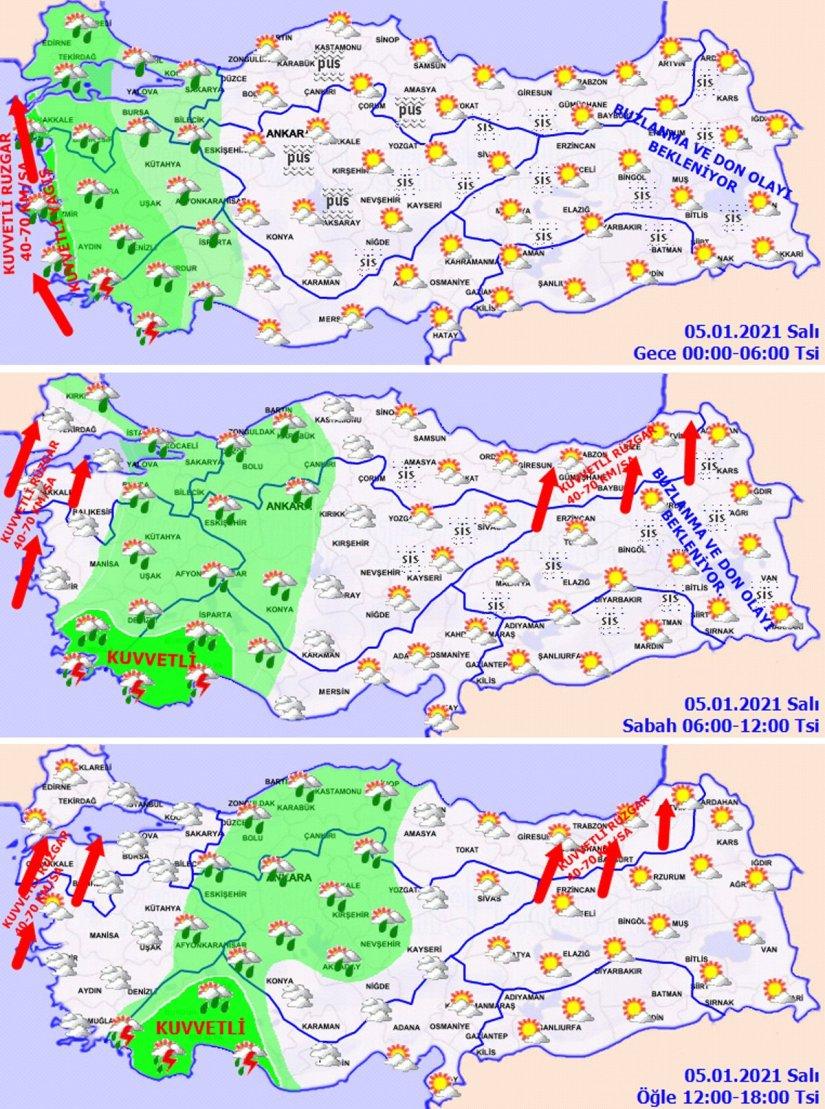 Son dakika… Meteoroloji'den İstanbul ve Ankara için önemli uyarılar! 1 ilde turuncu, 13 ilde sarı alarm