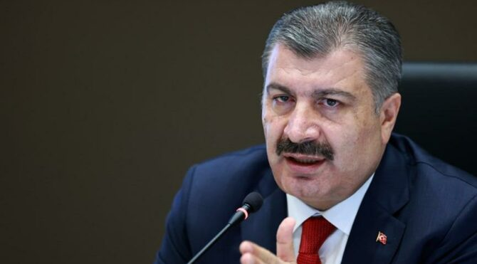 Son dakika… Sağlık Bakanı Koca'dan toplantı sonrası corona aşısı açıklaması