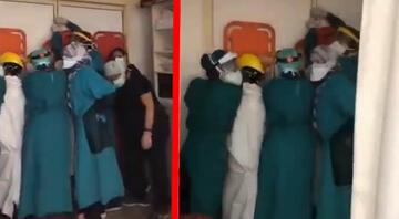 Ankarada hastanedeki bu görüntülerin ardından Valilikten açıklama geldi