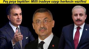 Kılıçdaroğlu'nun 'sözde cumhurbaşkanı sözlerine tepki Milli iradeye saygı herkesin vazifesi