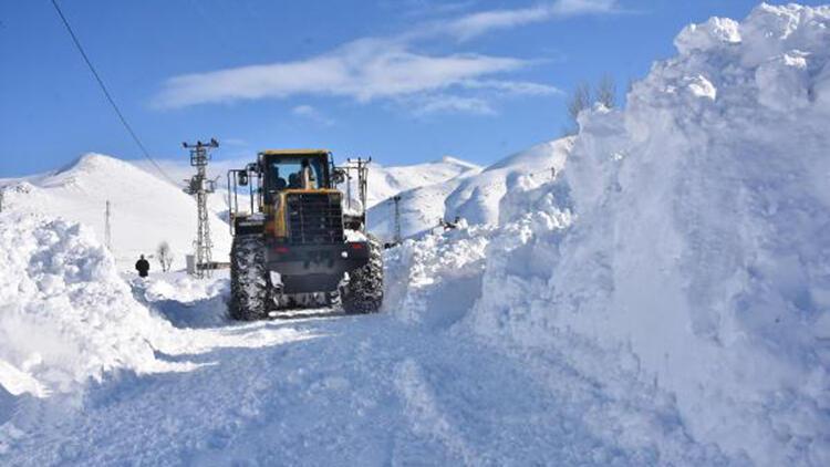Bitlis'te karla mücadele; 204 köy yolu ulaşıma açıldı