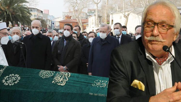 Cumhurbaşkanı Erdoğan, Yavuz Bahadıroğlu'nun cenaze törenine katıldı