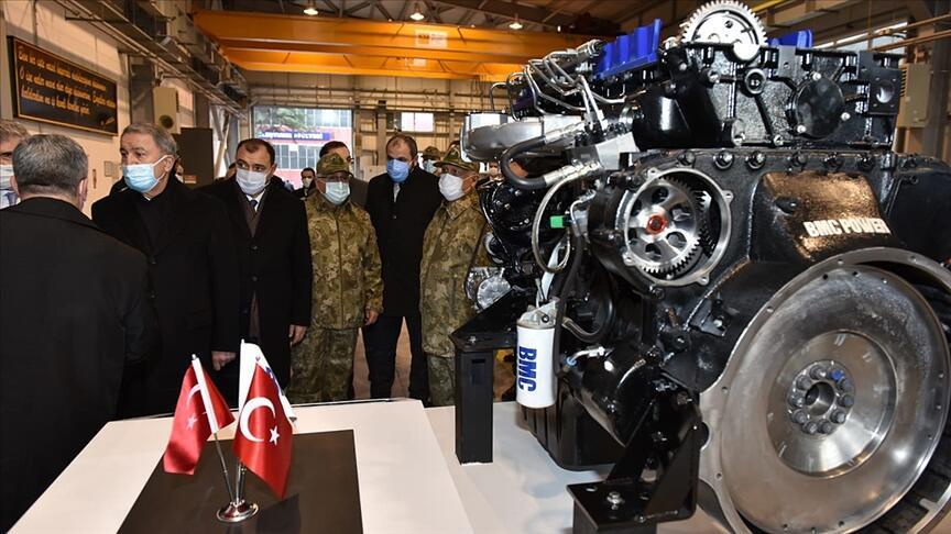 Azra isimli yerli motor askeri araçlara entegre ediliyor