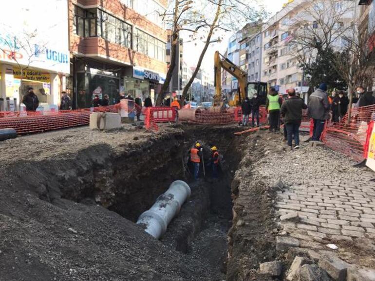 Trabzonda alt yapı kazısında bulunmuştu Sırrı çözüldü