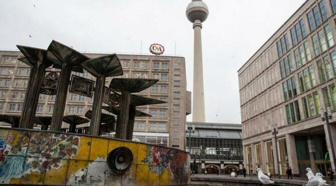 Almanya sokaklarında sessizlik hakim