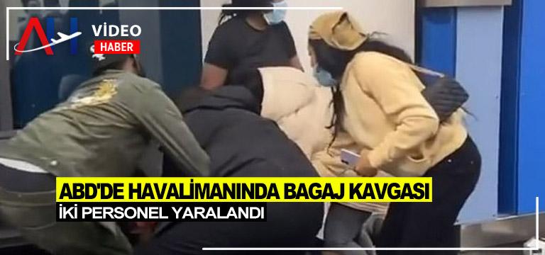 Havaalanında bagaj tartışması kavgaya dönüştü 2 kişi yaralandı