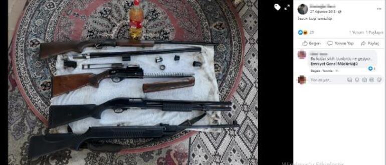 İşkence yaptığı eşi Melek İpek tarafından öldürülmüştü Ramazan İpekin dikkat çeken silah paylaşımları...