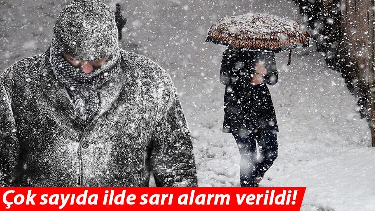 İstanbul'da kar ne zaman başlayacak? Meteoroloji'den son dakika hava durumu uyarısı! Sarı alarm verildi