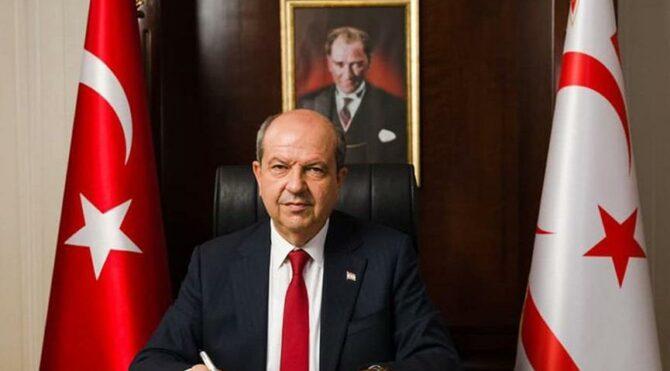 KKTC Cumhurbaşkanı Tatar: İki devletli çözümü konuşacaksak masaya oturacağım