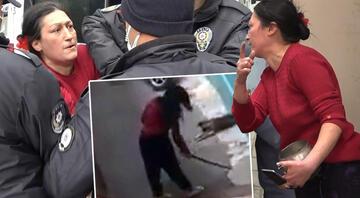 Çaydanlıkla polise sopayla mahalleliye saldırdı Kimse baş edemiyor...