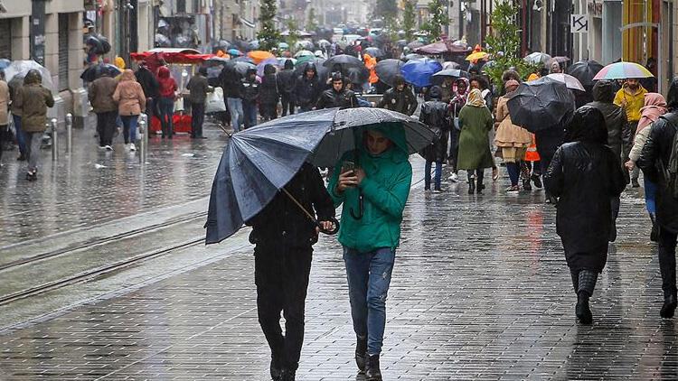 Meteoroloji'den İstanbul ve çok sayıda kente sağanak yağış uyarısı!