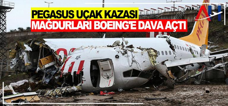 Pegasus uçak kazası mağdurları Boeing'e dava açtı