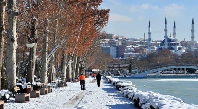 Kar hafta ortasına kadar sürecek… Ankara hava durumu tahminleri