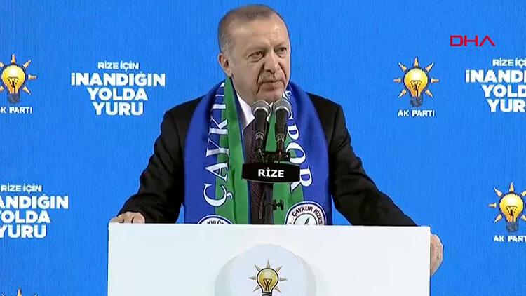 Cumhurbaşkanı Erdoğan'dan ABD'ye tepki: Bal gibi de PKK'nın yanındasınız