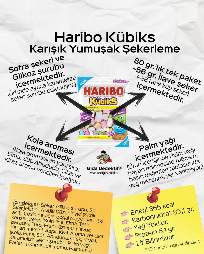 Haribo Kübiks - Gıda Dedektifi