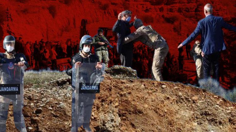 Adıyaman'daki katliam sonrası dikkat çeken görüntü! Cenazeye böyle girebildiler